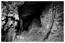 Photo from within the mine